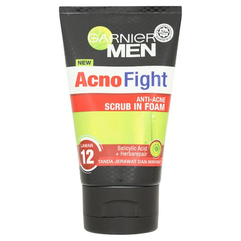 Garnier Acno Fight Anti-Acne Scrub In Foam 100 ml