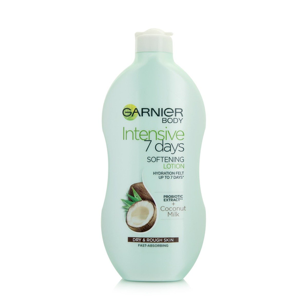 Garnier Intensive 7 Days Coconut Milk Body Lotion Dry & Rough Skin 400ml