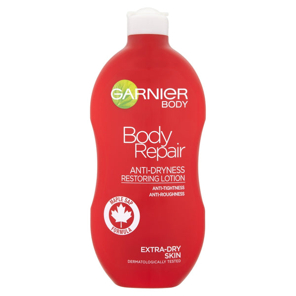 Garnier body anti-dryness restoring lotion 400ml in sri lanka