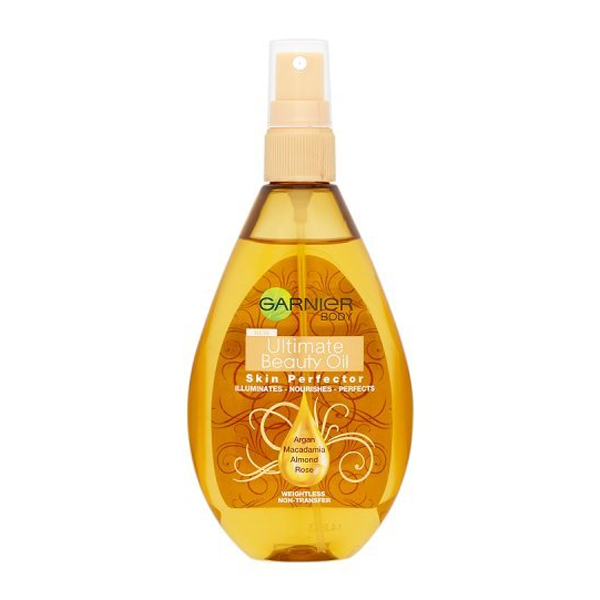 Garnier body ultimate beauty skin perfector oil 150ml in sri lanka