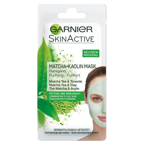 Garnier face mask purifying matcha and kaolin in sri lanka