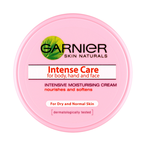 Garnier intense care for body, hand & face moisturising cream in sri lanka