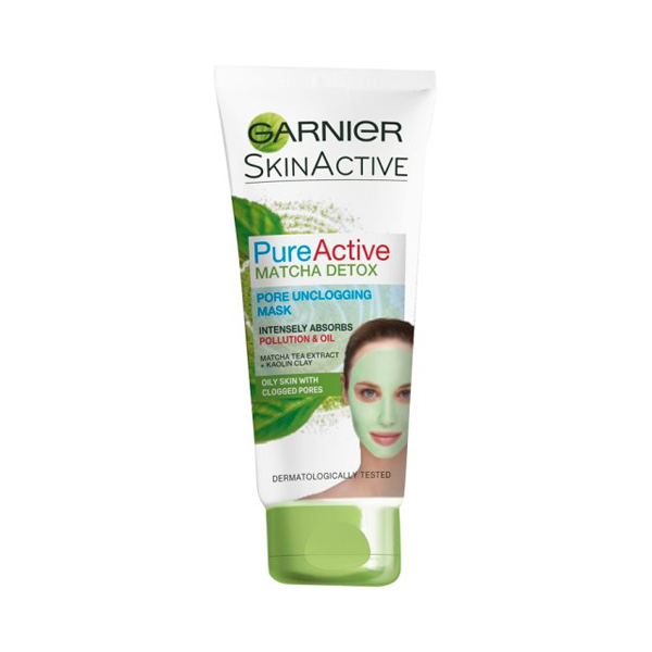 Garnier Pure Active Matcha Detox Mask 100ml in Sri Lanka