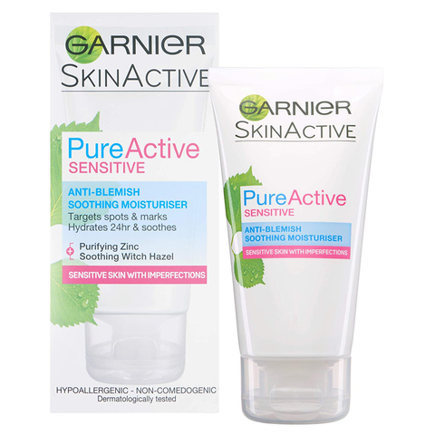 Garnier Pure Active Sensitive Moisturiser 50ml