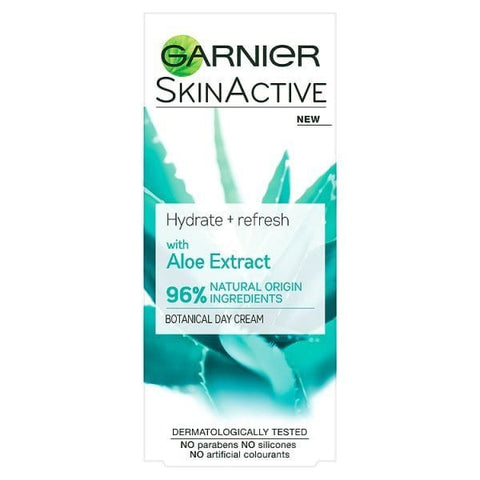 Buy Garnier skin active hydrate + refresh with aloe extract day cream in sri lanka