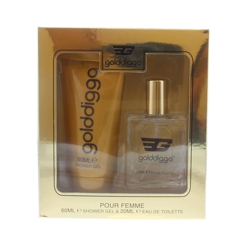 Golddigga Gold Fragrance Duo 2PC Gift Set in Sri Lanka
