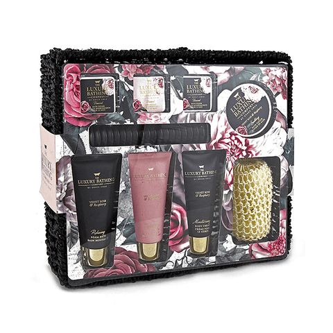 Grace Cole Rose & Raspberry Cherished 9PC Gift Set in Sri Lanka