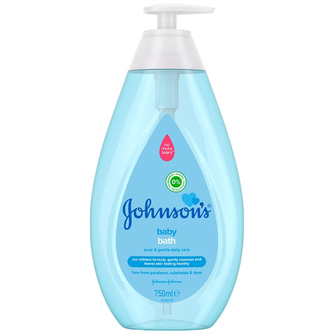 Johnson's Baby Bath Pure & Gentle Daily Care 750ml