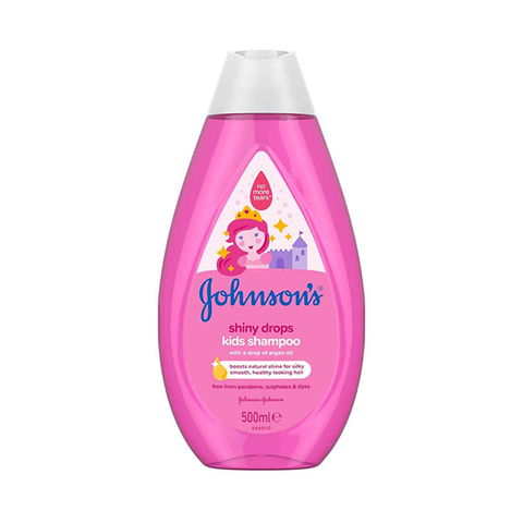 Johnson's Shiny Drops Kids Shampoo 500ml in Sri Lanka