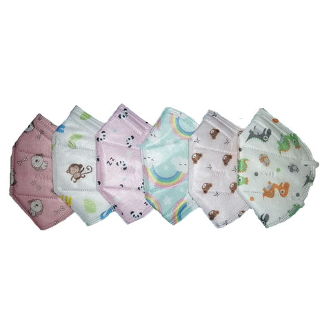 Kids KN 95 Face Mask Pack Of 6