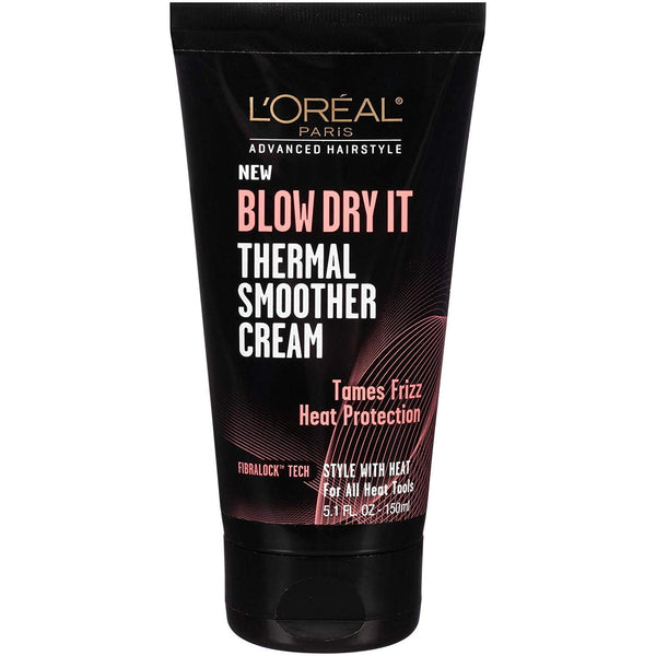 L'Oréal Paris Advanced Hairstyle Blow Dry It Thermal Smoother Cream 150ml