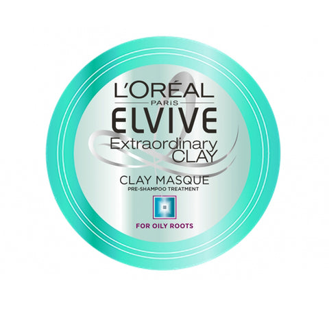 L'Oreal Paris Elvive Extraordinary Clay Masque Pre Shampoo Mask Treatment 150ml