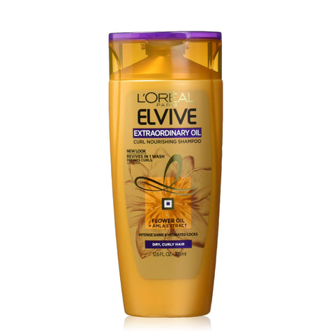 L'Oreal Paris Elvive Extraordinary Oil Curls Nourishing Shampoo 375ml