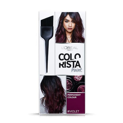 Buy L'Oreal colo rista paint permanent hair colour - violet in sri lanka