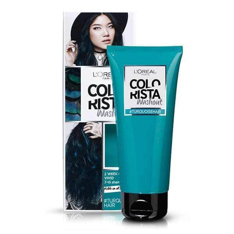 Buy L'Oreal colo rista washout sami permenent hair colour - Turquoise hair