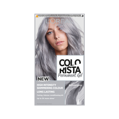 L'Oreal Colorista Silver Grey Permanent Gel Hair Colour in Sri Lanka
