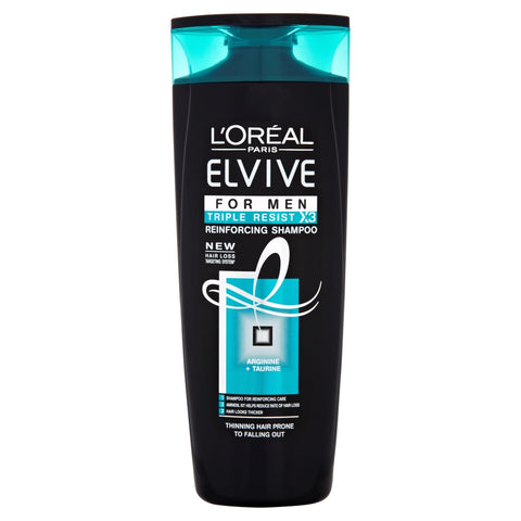 Buy L'Oréal elvive men triple resist shampoo 400ml in sri lanka