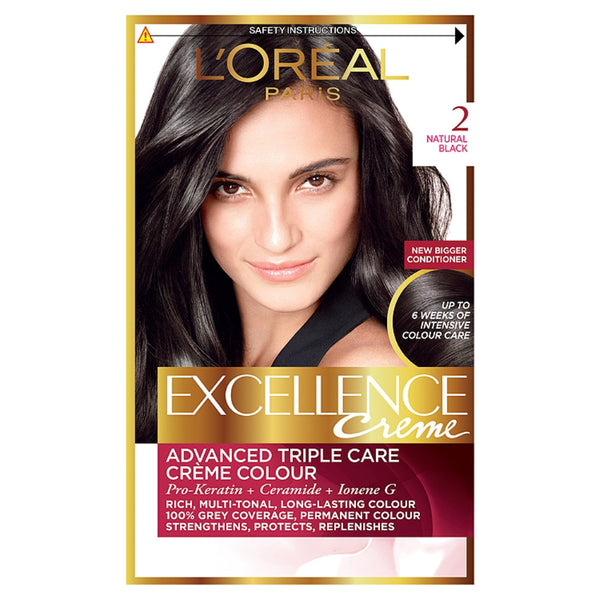 Buy L'Oreal excellence 2 natural black in sri lanka