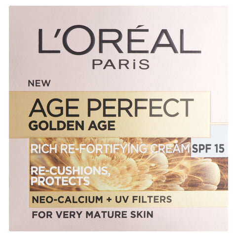 Buy L'Oreal paris age perfect golden age day cream SPF15 in sri lanka