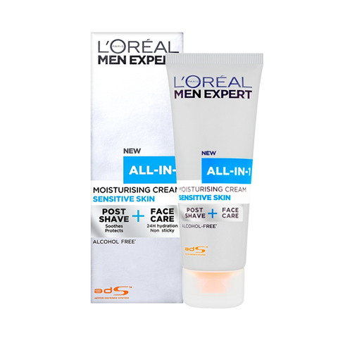 L'Oreal Men Expert All-In-One Sensitive Face Cream 75ml in Sri Lanka