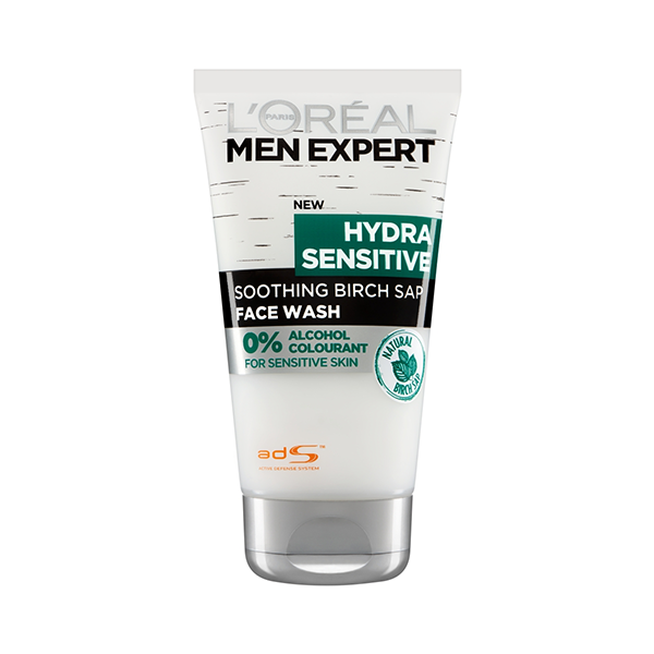 L'Oreal Men Expert Hydra Sensitive Face Wash 150ml in Sri Lanka