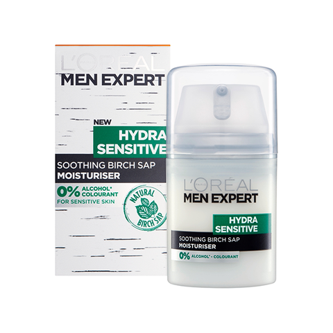 L'Oreal Men Expert Hydra Sensitive Moisturiser 50ml in Sri Lanka