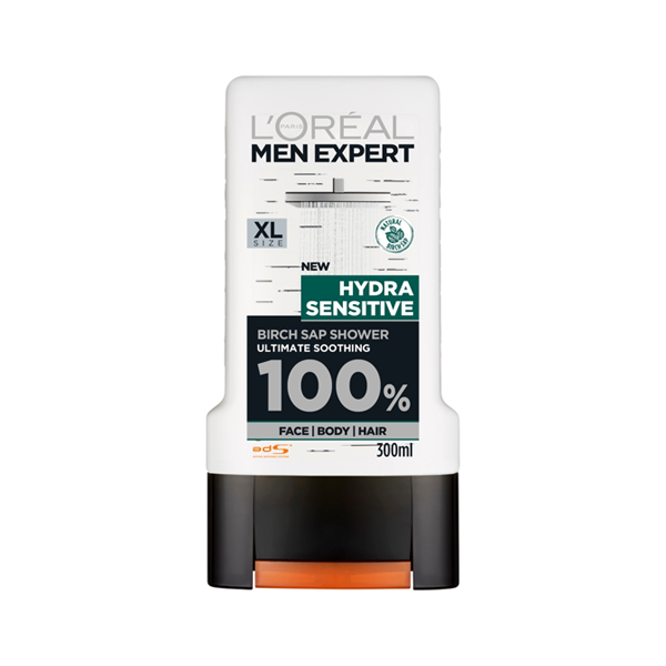 L'Oreal Men Expert Hydra Sensitive Shower Gel 300ml in Sri Lanka