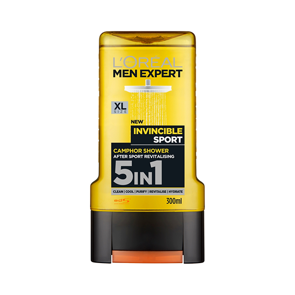 L'Oreal Men Expert Invincible Sport Shower Gel 300ml in Sri Lanka