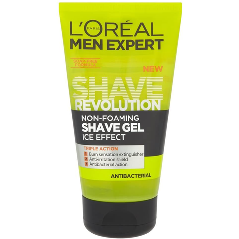 L'Oreal Men Expert Shave Revolution Non-Foaming Gel Ice Effect 150 ml