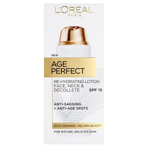 Buy L'Oreal paris age perfect face, neck & decollete lotion in sri lanka