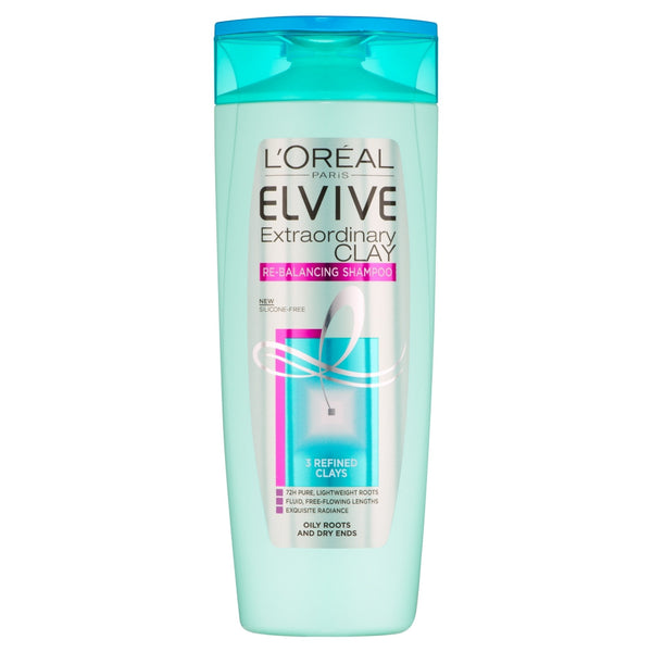 Buy L'Oreal paris elvive extraordinary clay re-balancing shampoo in sri lanka