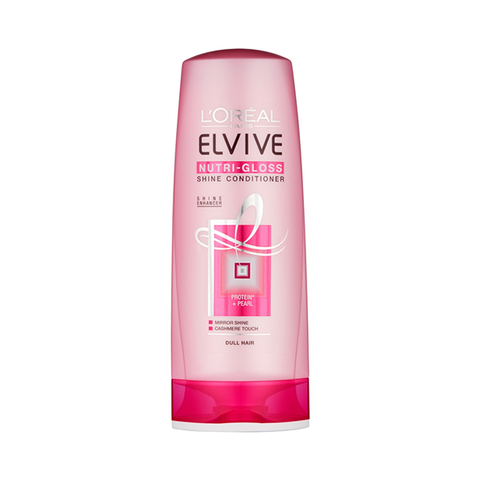 L'Oreal Paris Elvive Nutri-Gloss Shine Conditioner 400ml in Sri Lanka