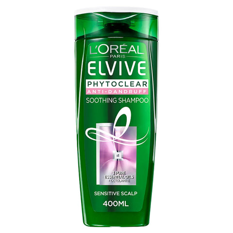 Buy  L'Oreal paris elvive phytoclear anti-dandruff soothing shampoo in sri lanka