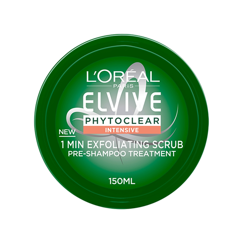 L'Oreal Paris Elvive Phytoclear Anti-Dandruff 1 Minute Exfoliating Scrub 150ml in Sri Lanka