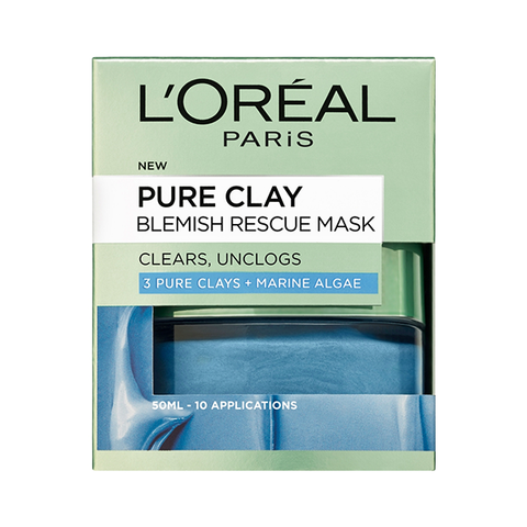 L'Oreal Paris Pure Clay Blemish Rescue Face Mask 50ml in Sri Lanka