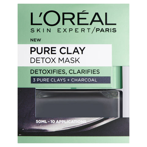 Buy L'Oreal paris pure clay detox face mask 50ml in sri lanka