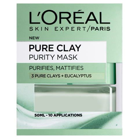 Buy L'Oreal paris pure clay purity face mask 50ml in sri lanka