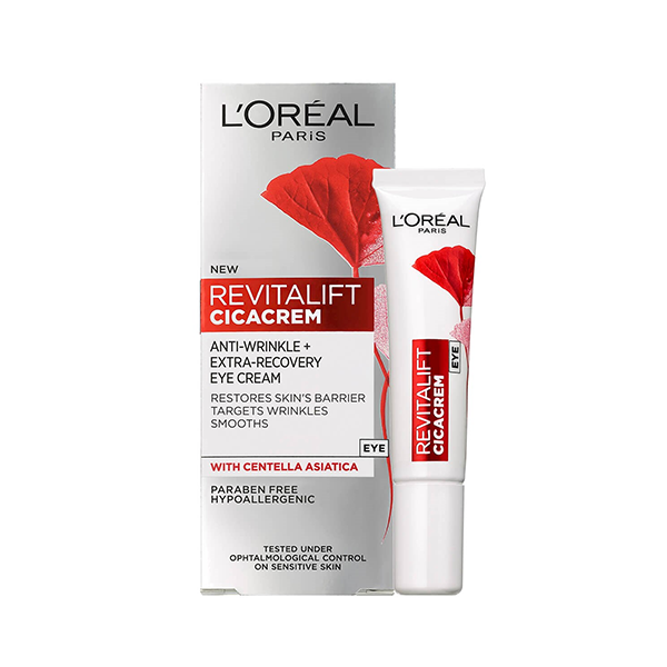L'Oreal Paris Revitalift Cica Anti Wrinkle Recovery Eye Cream 15ml in Sri Lanka