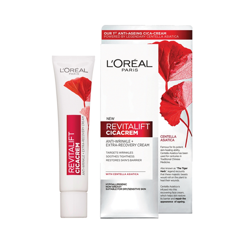 L'Oreal Paris Revitalift Cicacrem Anti-Wrinkle Repair Cream 40ml in Sri Lanka
