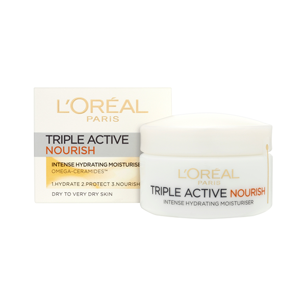 L'Oreal Paris Triple Active Day Moisturiser Very Dry Skin 50ml in Sri Lanka