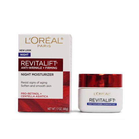 L'Oreal, Revitalift Anti-Wrinkle + Firming Night Moisturizer 48g