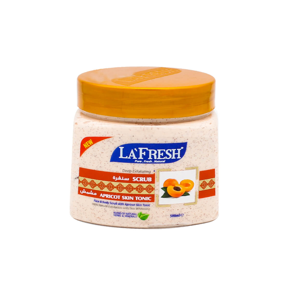La'Fresh Apricot Face & Body  Scrub 500ml