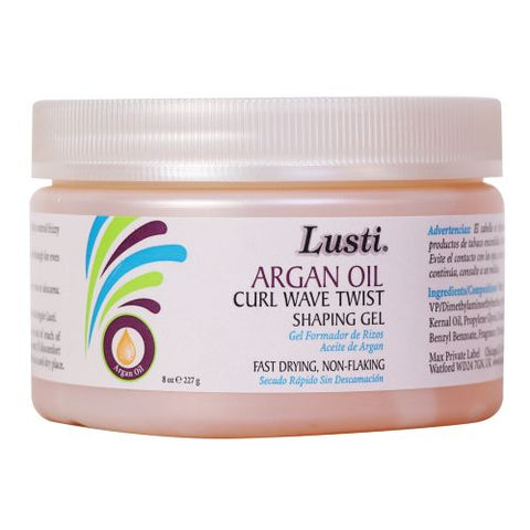 Lusti Argan Oil Curl Wave Twist Gel 227g