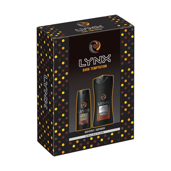 Lynx Dark Temptation Duo Gift Set in Sri Lanka