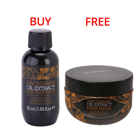 Macadamia Hair Treatment Oil 50ml & Hair Mask 250ml in Sri Lanka