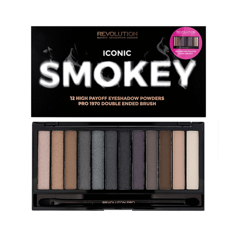 Makeup Revolution Iconic Smokey Eyeshadow Palette in Sri Lanka