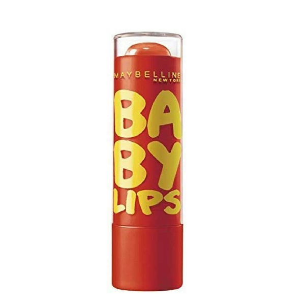 Maybelline Baby Lips Moisturising Lip Balm Orange Burst