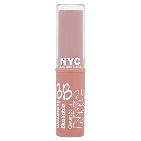 NYC Beautifying Blushable Cream To Powder Stick-001 Soho Pink