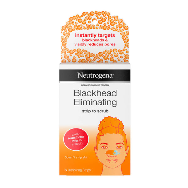 Neutrogena Blackhead Eliminating Strip To Scrub 6 Strips