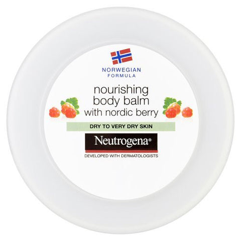 Neutrogena Norwegian Formula Nourishing Body Balm with Nordic Berry 200ml